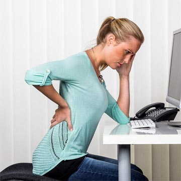 back, pain, office, chair, posture, desk,