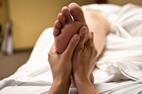 foot, massage, reflexology, heal, health, masseur